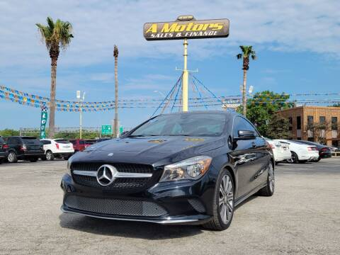 2017 Mercedes-Benz CLA for sale at A MOTORS SALES AND FINANCE in San Antonio TX
