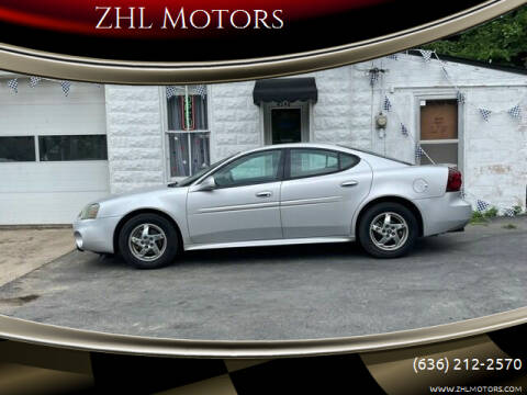 2004 Pontiac Grand Prix for sale at ZHL Motors in House Springs MO