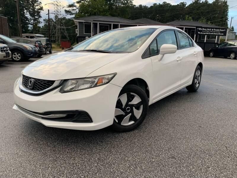 2014 Honda Civic for sale at Georgia Car Shop in Marietta GA