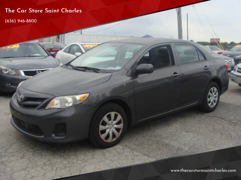 2013 Toyota Corolla for sale at The Car Store Saint Charles in Saint Charles MO