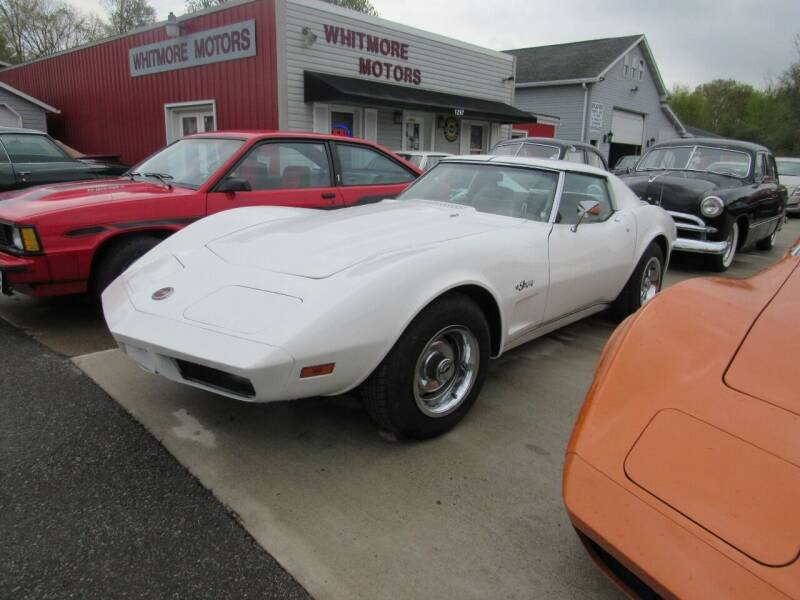 1974 Chevrolet Corvette for sale at Whitmore Motors in Ashland OH
