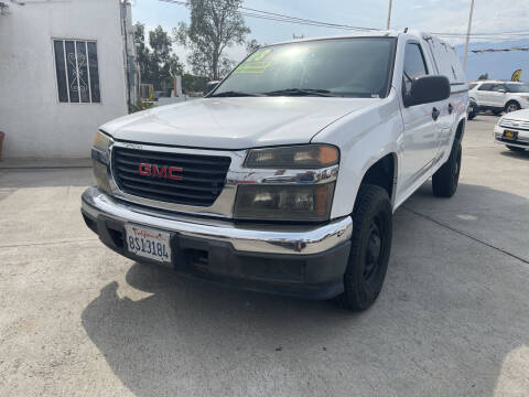 2008 GMC Canyon for sale at CALIFORNIA AUTO FINANCE GROUP in Fontana CA