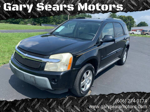 2006 Chevrolet Equinox for sale at Gary Sears Motors in Somerset KY