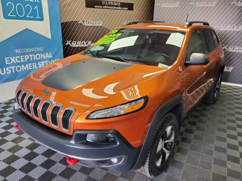 2016 Jeep Cherokee for sale at X Drive Auto Sales Inc. in Dearborn Heights MI
