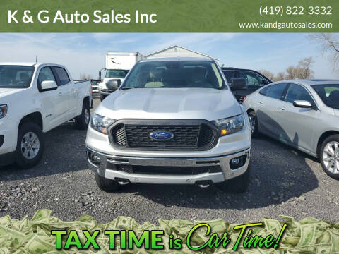 2019 Ford Ranger for sale at K & G Auto Sales Inc in Delta OH