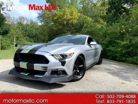 2015 Ford Mustang for sale at Motor Max Llc in Louisville KY