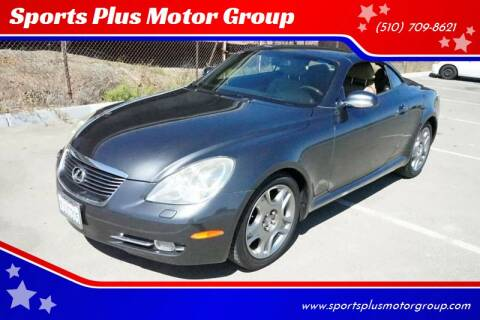 2006 Lexus SC 430 for sale at Sports Plus Motor Group LLC in Sunnyvale CA