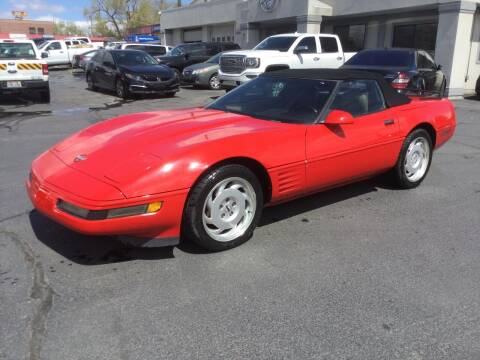1992 Chevrolet Corvette for sale at Beutler Auto Sales in Clearfield UT