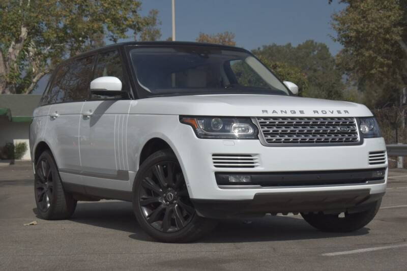 2017 Land Rover Range Rover for sale at Mission City Auto in Goleta CA