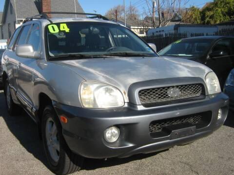 2004 Hyundai Santa Fe for sale at JERRY'S AUTO SALES in Staten Island NY