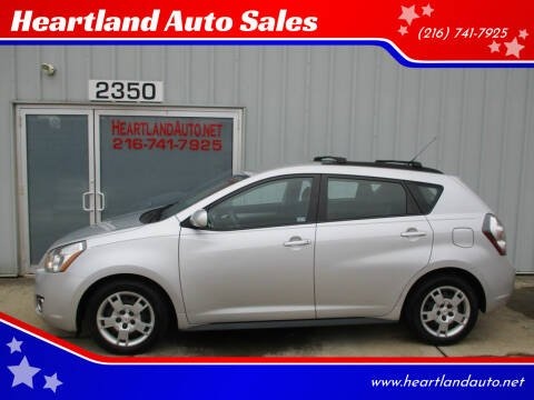 2009 Pontiac Vibe for sale at Heartland Auto Sales in Medina OH