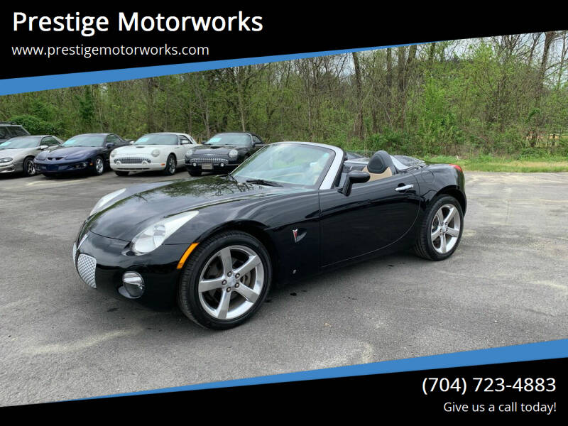 2007 Pontiac Solstice for sale in Concord, NC
