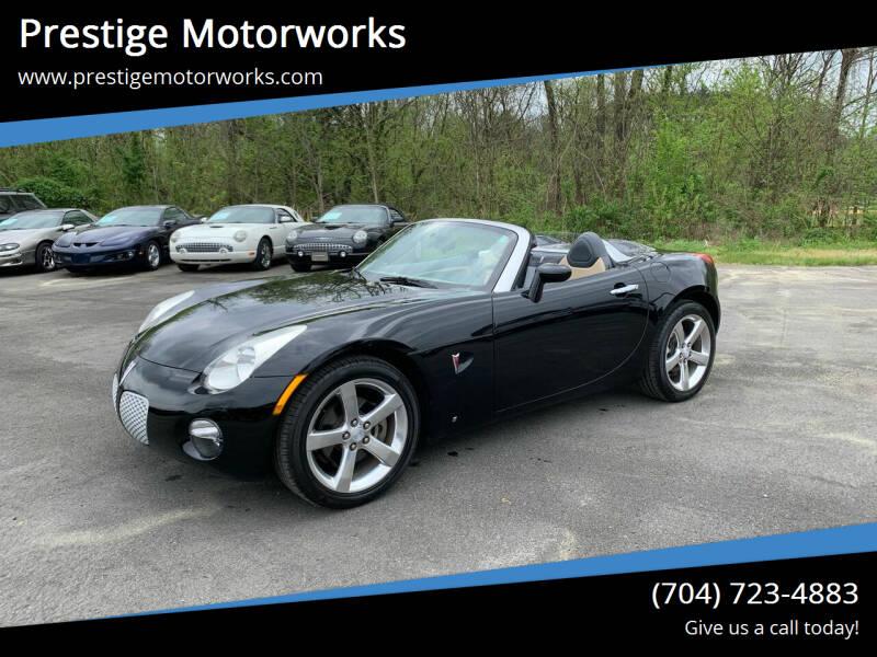 2007 Pontiac Solstice for sale at Prestige Motorworks in Concord NC