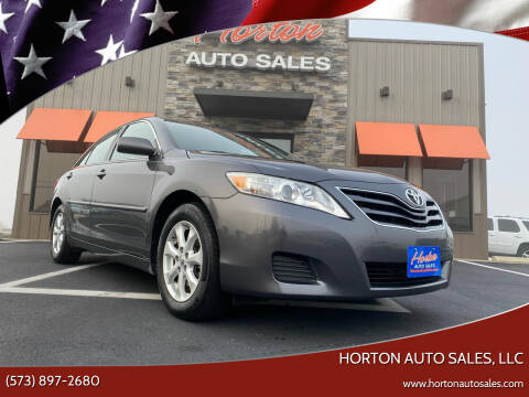 2011 Toyota Camry for sale at HORTON AUTO SALES, LLC in Linn MO