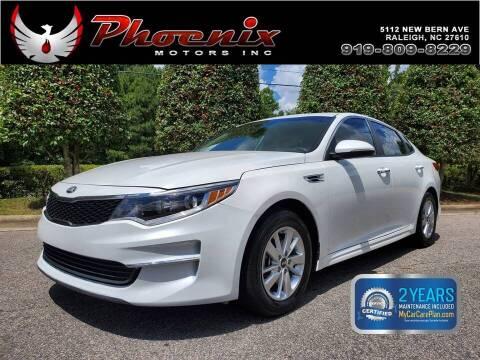 2018 Kia Optima for sale at Phoenix Motors Inc in Raleigh NC