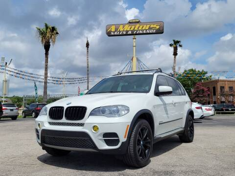 2013 BMW X5 for sale at A MOTORS SALES AND FINANCE - 5630 San Pedro Ave in San Antonio TX