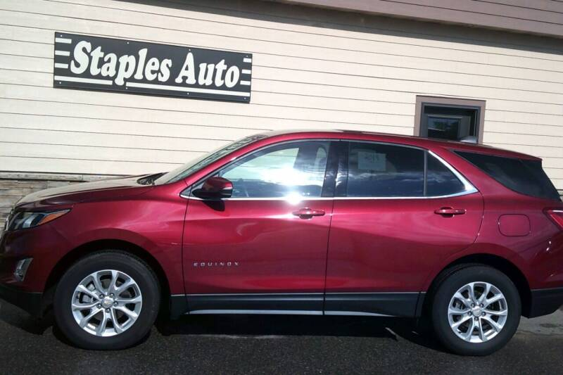 2019 Chevrolet Equinox for sale at STAPLES AUTO SALES in Staples MN