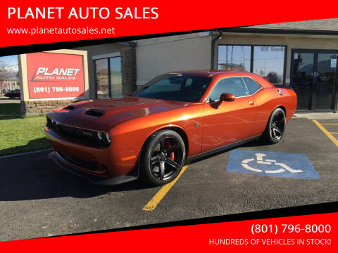 2021 Dodge Challenger for sale at PLANET AUTO SALES in Lindon UT