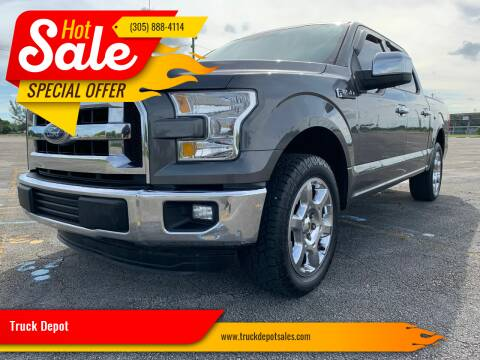 2015 Ford F-150 for sale at Truck Depot in Miami FL