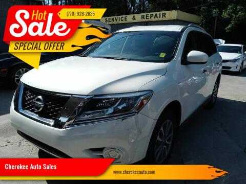 2014 Nissan Pathfinder for sale at Cherokee Auto Sales in Acworth GA