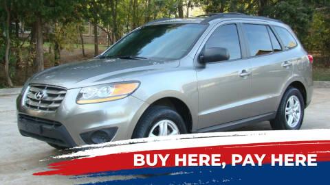 2011 Hyundai Santa Fe for sale at Red Rock Auto LLC in Oklahoma City OK