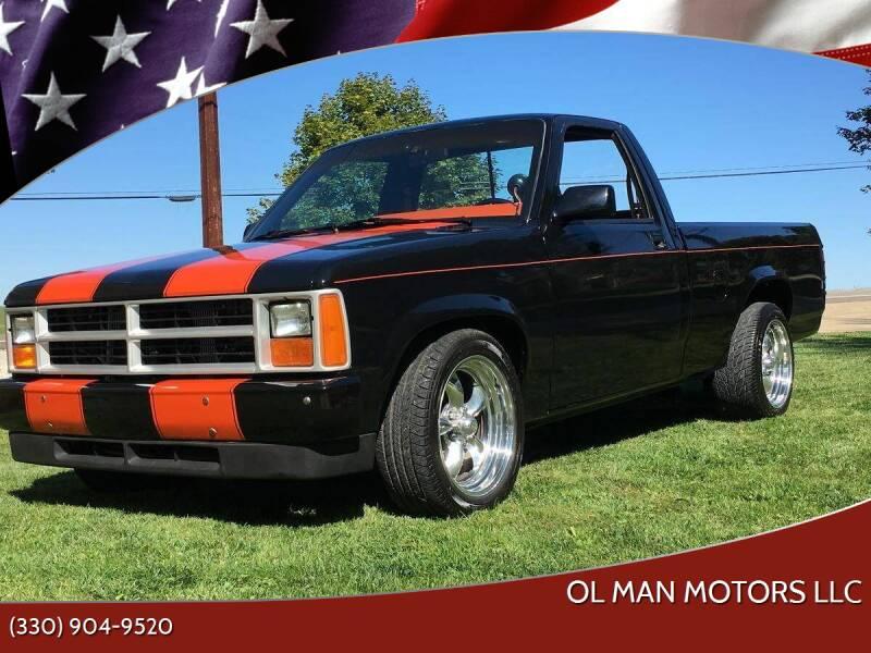 1987 Dodge Dakota for sale at Ol Man Motors LLC in Louisville OH