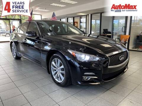 2014 Infiniti Q50 for sale at Auto Max in Hollywood FL