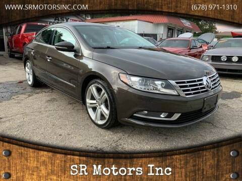 2013 Volkswagen CC for sale at SR Motors Inc in Gainesville GA