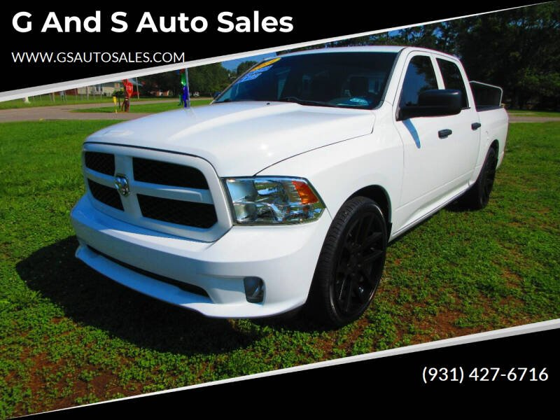 2014 RAM Ram Pickup 1500 for sale at G and S Auto Sales in Ardmore TN