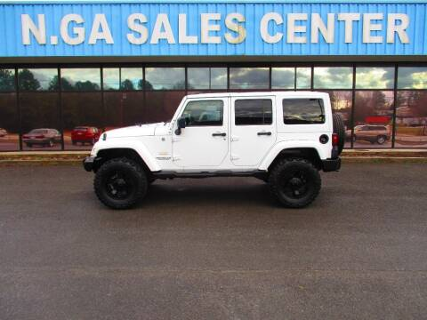 2011 Jeep Wrangler Unlimited for sale at NORTH GEORGIA Sales Center in La Fayette GA