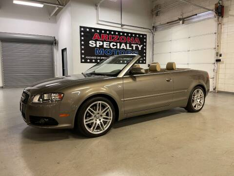 2009 Audi A4 for sale at Arizona Specialty Motors in Tempe AZ