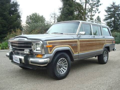 1991 Jeep Grand Wagoneer for sale at Santa Barbara Auto Connection in Goleta CA