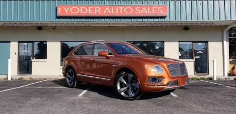 2017 Bentley Bentayga for sale at PAUL YODER AUTO SALES INC in Sarasota FL