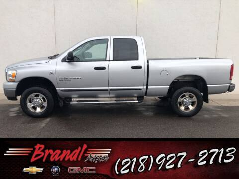 2006 Dodge Ram Pickup 2500 for sale at Brandl GM in Aitkin MN