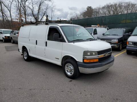 2003 Chevrolet Express Cargo for sale at MX Motors LLC in Ashland MA