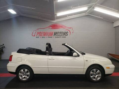 2002 Volkswagen Cabrio for sale at Premium Motors in Villa Park IL