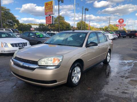 2005 Chevrolet Malibu for sale at RJ AUTO SALES in Detroit MI