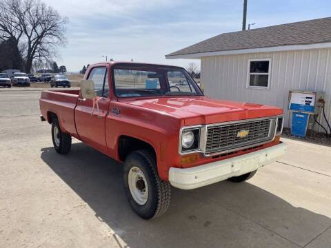 1974 Chevrolet C/K 20 Series for sale at B & B Auto Sales in Brookings SD
