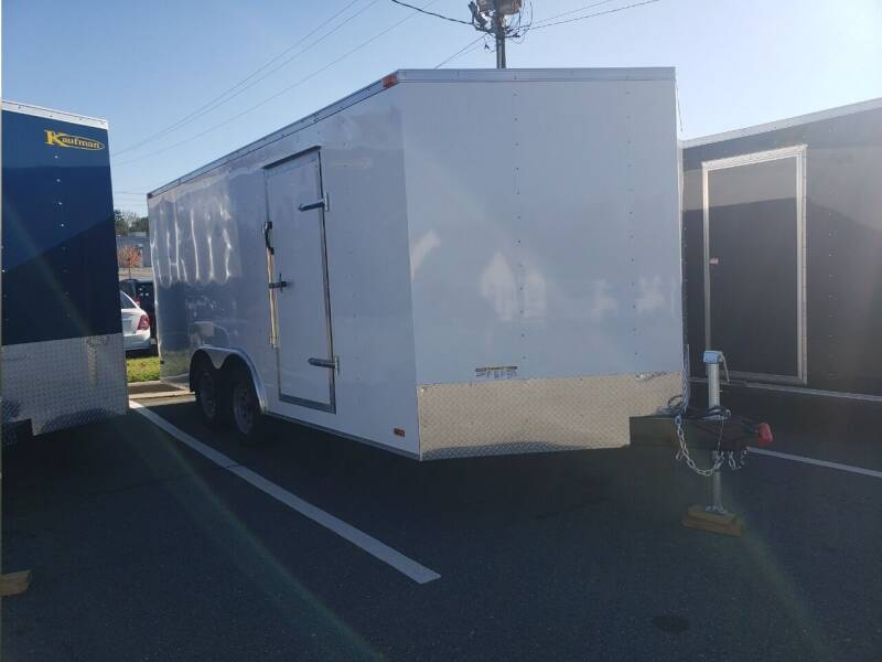 2021 8.5x16 Standard Enclosed Trailer for sale at Big Daddy's Trailer Sales in Winston Salem NC