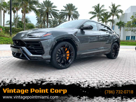 2019 Lamborghini Urus for sale at Vintage Point Corp in Miami FL