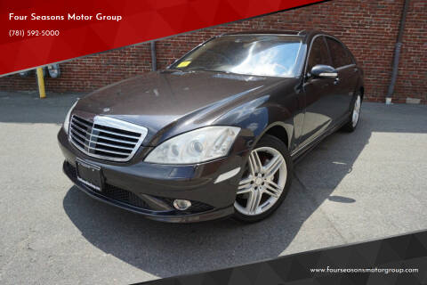 2009 Mercedes-Benz S-Class for sale at Four Seasons Motor Group in Swampscott MA