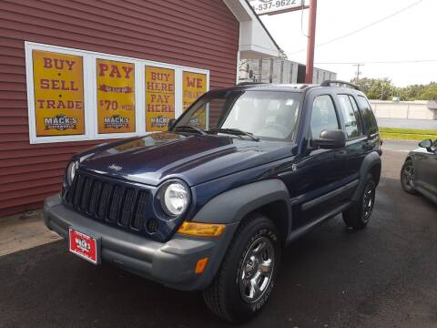 2006 Jeep Liberty for sale at Mack's Autoworld in Toledo OH