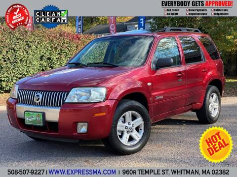 2007 Mercury Mariner Hybrid for sale at Auto Sales Express in Whitman MA