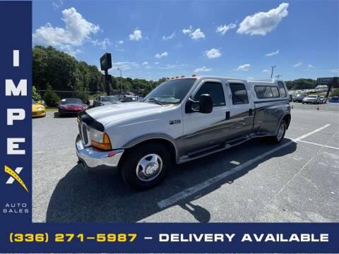 2000 Ford F-350 Super Duty for sale at Impex Auto Sales in Greensboro NC