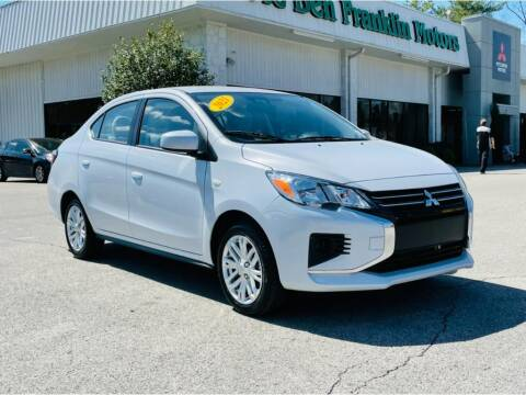 2021 Mitsubishi Mirage G4 for sale at Ole Ben Franklin Mitsbishi in Oak Ridge TN