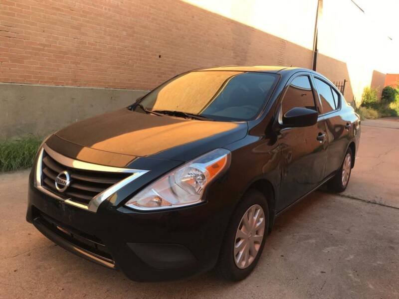 2016 Nissan Versa for sale at Dynasty Auto in Dallas TX