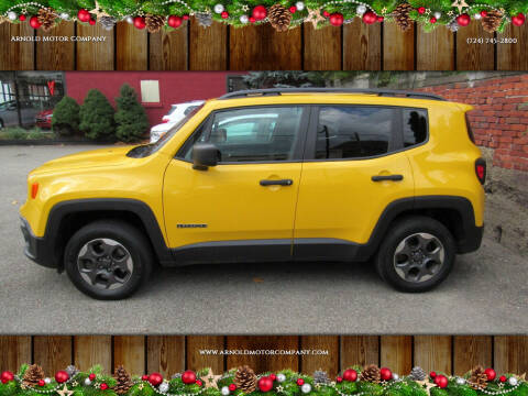 2018 Jeep Renegade for sale at Arnold Motor Company in Houston PA