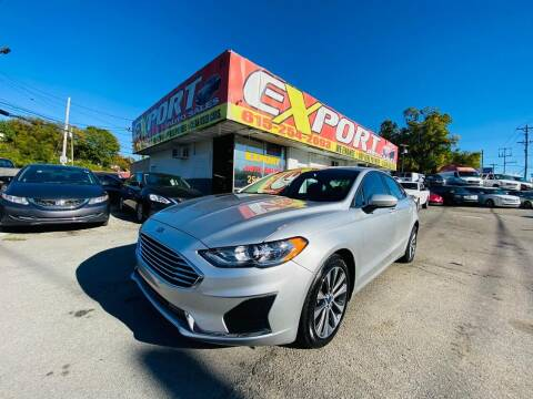 2019 Ford Fusion for sale at EXPORT AUTO SALES, INC. in Nashville TN