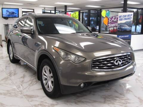 2010 Infiniti FX35 for sale at Dealer One Auto Credit in Oklahoma City OK