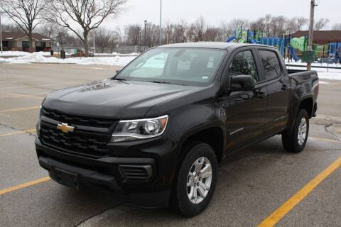 2021 Chevrolet Colorado for sale at A-Auto Luxury Motorsports in Milwaukee WI